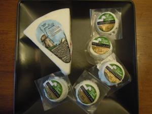 Trader Joe's Goat Cheeses